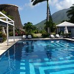 Pool with Mount Nevis and the Mill