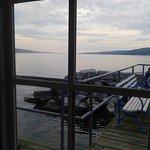 Beautiful views at the marina at Watkins Glen