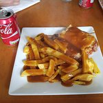 Corned Beef Pie and Chips