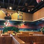Mural inside Iguanas Restaurant St. Simons Island, GA