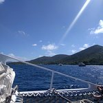 Heading out from St. Thomas to St. John