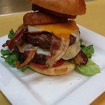 Big Bad A$$ Burger. One pound!
