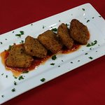 Capriese Bites w/Marinara Sauce