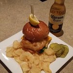 Have a battered fried fish sandwich any day of the week!