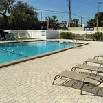 Recently renovated swimming pool