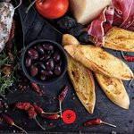Bruschetta and fine spices