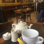 All day set menu; tea service; les tartines; house made yoghurt: