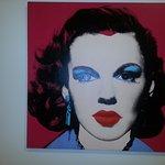 Judy Garland - Obra de Andy Warhol(coleção Berardo)