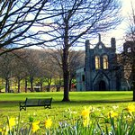 The abbey in spring