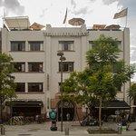 En el último piso del edificio Barrio Alameda se encuentra ubicada La Azotea