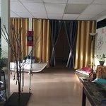 Entrance into the Studio