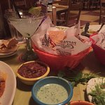 #LifeIsGood with Margaritas, chips & salsa