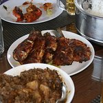 Taj Boat - Seafood Cooked by staff