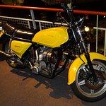 La seule moto DAF exposée