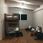 Extra bunks in living space.