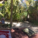Panorama from our palapa