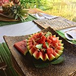 traditional cambodian dishes served in style!