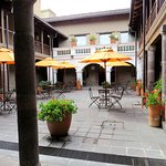 Museo Courtyard with cafe