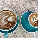 Cappuccino art x2