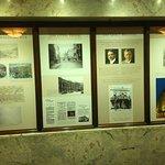 Hotel history display