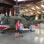 Huey like my father-in-law flew in in Vietnam.