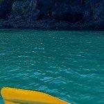 Kayaking at the island