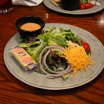 Excellent Salad with Italian Dressing. Unfortunately no Balsamic