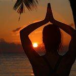 Sunrise and sunset yoga