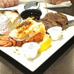 Steak and lobster $15.99