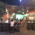 Bar table and enjoyee the bintang