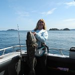 A nice lingcod on my most recent trip.