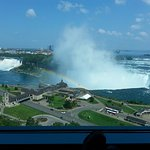 Room 1726 View of American and Horseshoe Falls from armchair.
