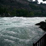 The White Water Walk offers amazing upclose views of the rapids.