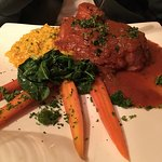 Recommend Pasta Amatriciana - simple & tasty, Osso Bucco was well presented & tasty (although th