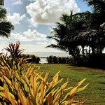 View of Muri Beach and Lagoon from Muri Beach Resort