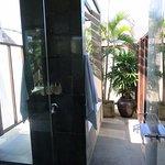 Outdoor Bathroom on Master Bedroom