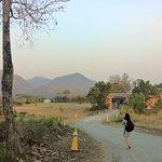 The road to Pai Laguna