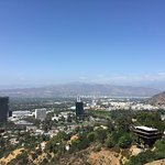 Universal Studios seen from Mulholland Drive