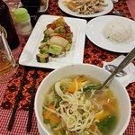 Dinner at Night Market 10 USD