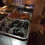 Night Market Fried spider, snake, scorpio
