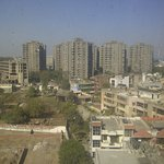 VIEW OVERLOOKING SOME OF THE EXCELLENT HOUSING FACILITIES IN INDIA