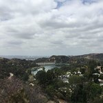 View from the Lake Hollywood Park
