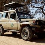 Waterbuck's safari truck
