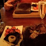 (Big Fat Juicy) Steak and prosecco