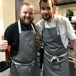 Head chefs Adam and Ben