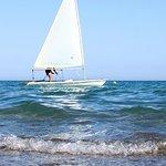 Attività nautiche in spiaggia