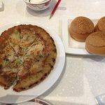 Char siew bao and fried yam