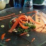 salade de harengs fumés