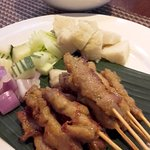 Chicken Satay was very average at Edge - Pan Pacific Hotel - Singapore (11/Mar/17).