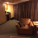 The reception area is nice but the rooms are very worn and dated. Suite area was not usable and